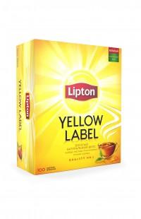 Lipton Yellow Label, 100 пакетиков