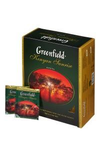 Черный чай в пакетиках Greenfield Ceylon, 100 пакетиков