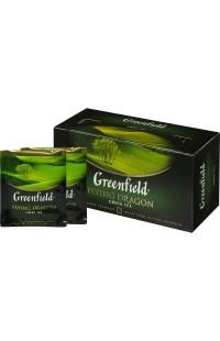 Зеленый чай в пакетиках Greenfield Flying Dragon, 25 пакетиков