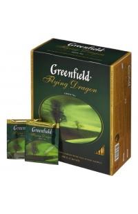 Зеленый чай в пакетиках Greenfield Flying Dragon, 100 пакетиков