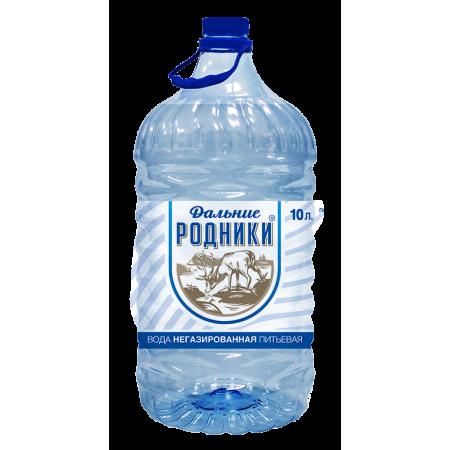 """Вода питьевая """"Дальние Родники""""  10 л."""
