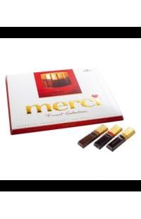 Мерси шоколадные конфеты ассорти   250 гр.