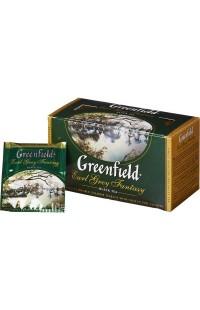 Черный чай в пакетиках Greenfield Earl Grey , 25 пакетиков