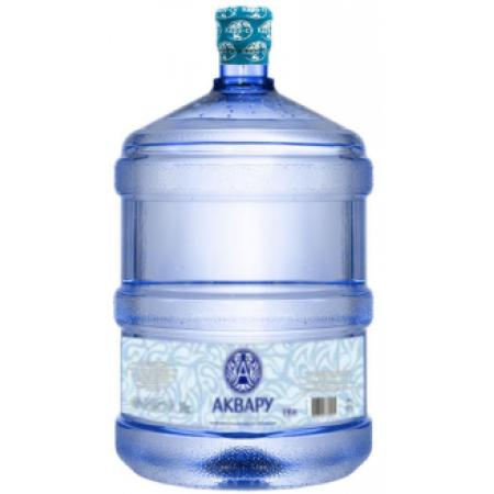 """Вода питьевая """"Аквару"""" 19 л."""