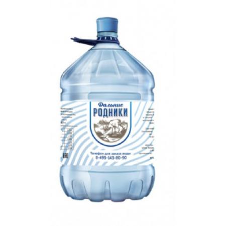 """Вода питьевая """"Дальние Родники""""  19 л в одн. таре"""