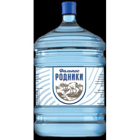 """Вода питьевая """"Дальние Родники""""  19 л."""